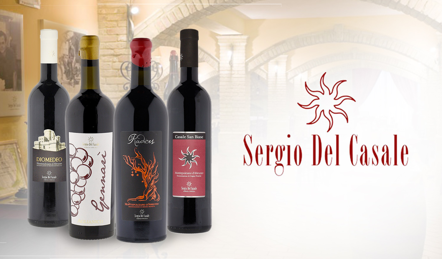 The Award-winning Italian wines from Sergio Del Casale
