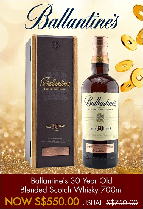 Ballantine's 30 Year Old Blended Scotch Whisky 700ml