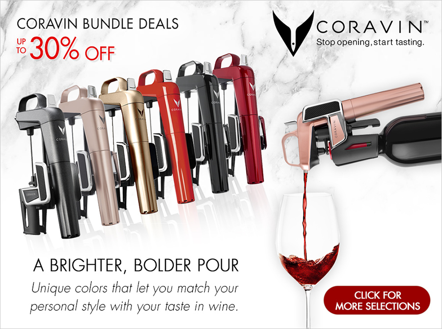 New In: Coravin Model Two System