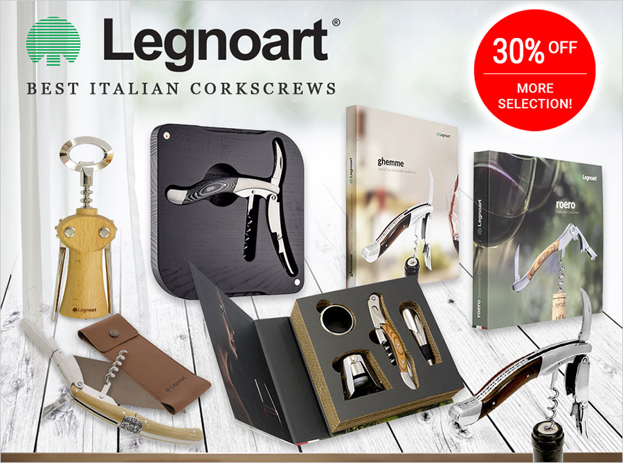 Legnoart Wine Accessories - up to 30% off