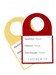 L'Atelier Wine Labels 40pcs 810998