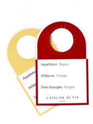 L'Atelier Wine Labels 40pcs 810998