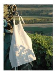 L'Atelier Apron - White Canvas 951547