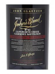 John's Blend Cabernet Sauvignon 2015 6000ml