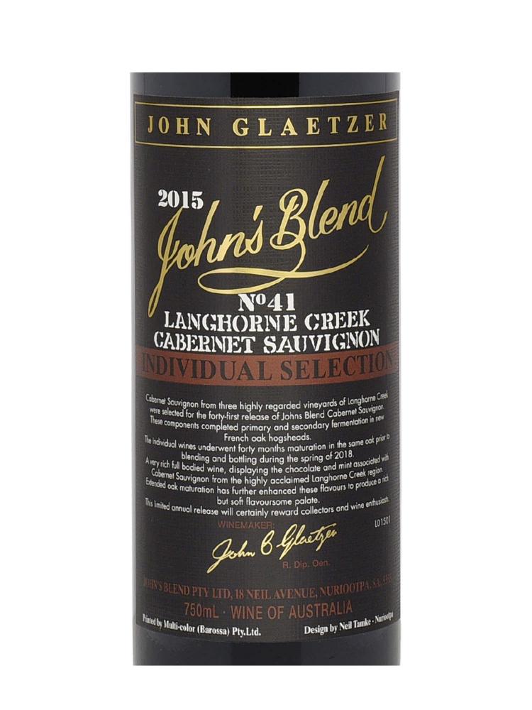 John's Blend Cabernet Sauvignon 2015 - 6bots