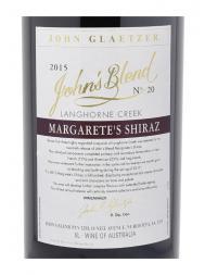 John's Blend Margarete's Shiraz 2015 6000ml