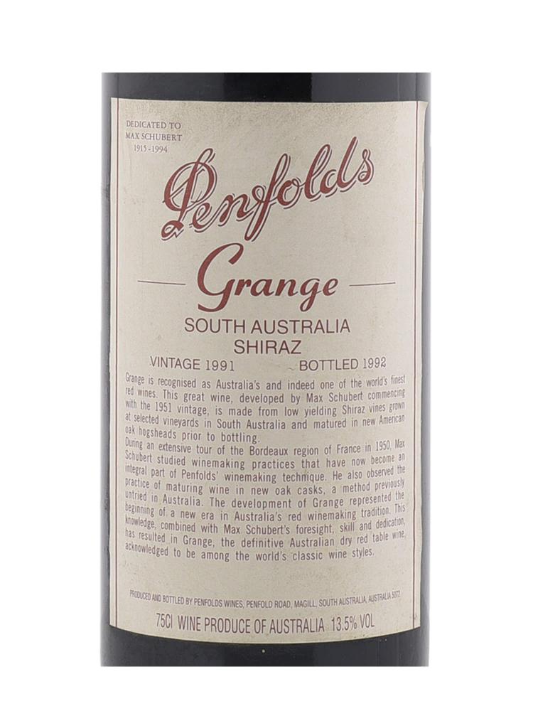 Penfolds Grange 1991