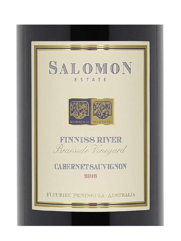 Salomon Estate Finniss River Cabernet Sauvignon 2016 - 6bots