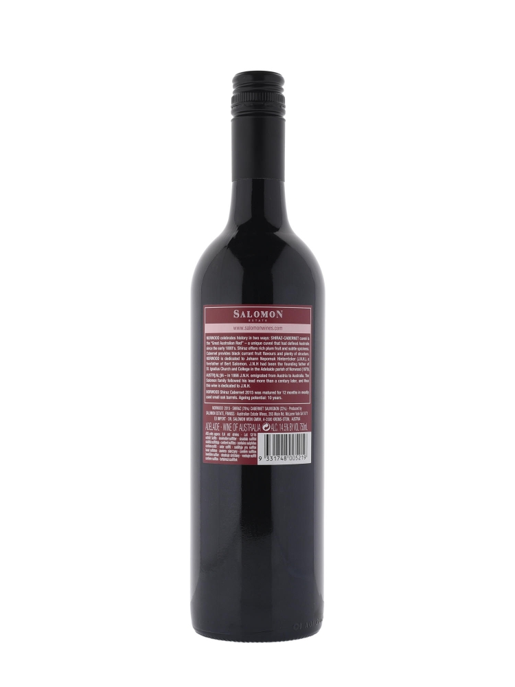Salomon Norwood Shiraz Cabernet 2015