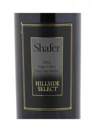 Shafer Hillside Select Cabernet Sauvignon 2005