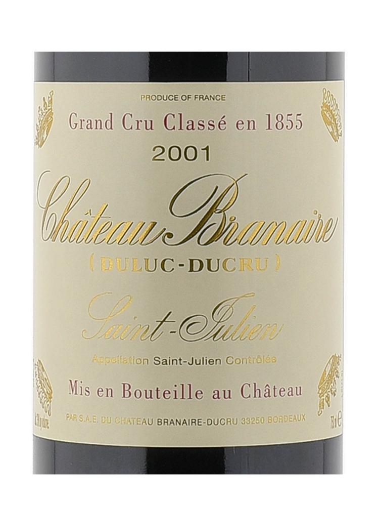 Ch.Branaire Ducru 2001
