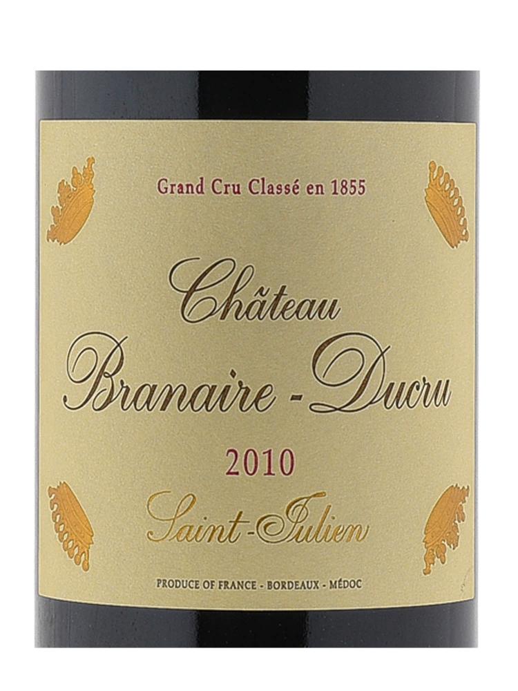 Ch.Branaire Ducru 2010 - 6bots