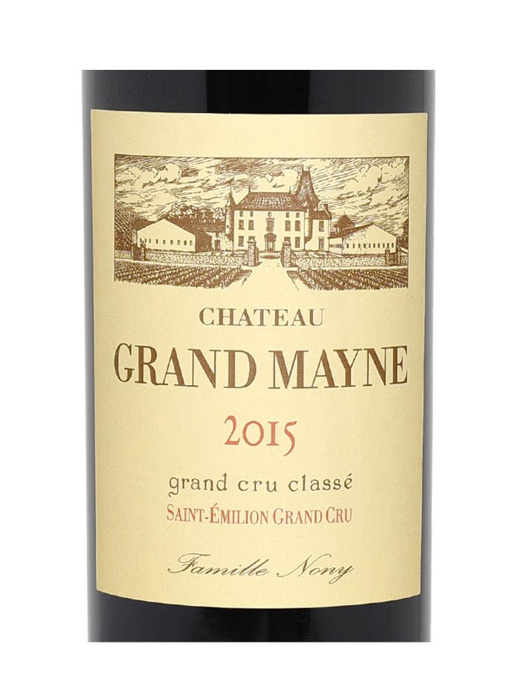 Ch.Grand Mayne 2015 ex-ch - 6bots