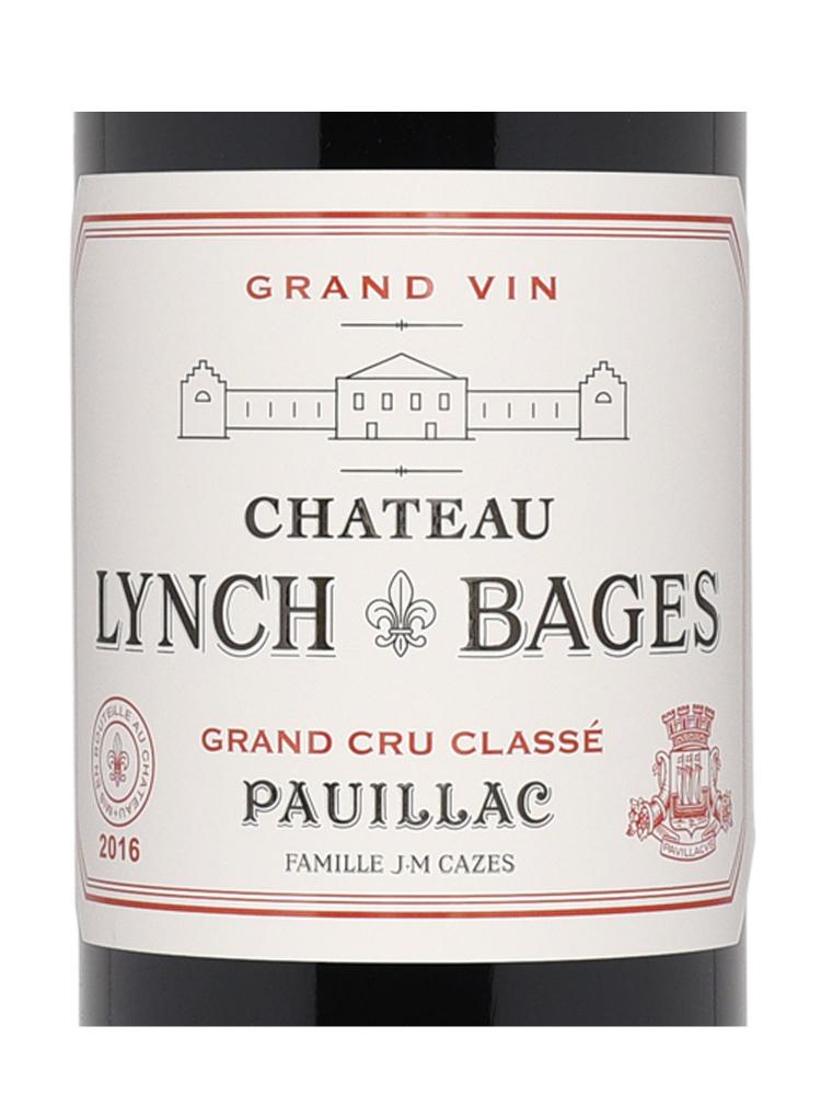 Ch.Lynch Bages 2016 ex-ch - 6bots