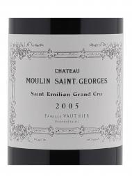 Ch.Moulin Saint Georges 2005 - 6bots
