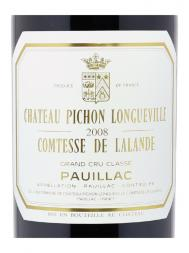 Ch.Pichon Lalande 2008 ex-ch 6000ml