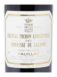 Ch.Pichon Lalande 2003 ex-ch 6000ml