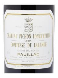 Ch.Pichon Lalande 2005 ex-ch 6000ml