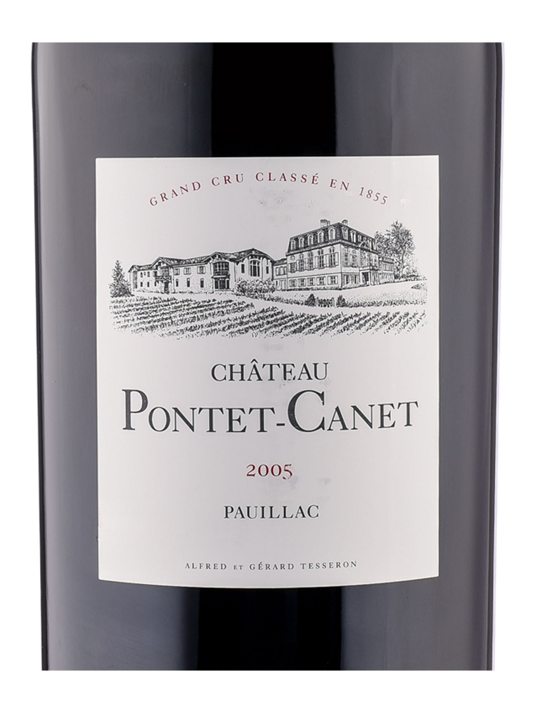 Ch.Pontet Canet 2005 6000ml