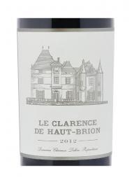 Le Clarence de Haut Brion 2012 ex-ch