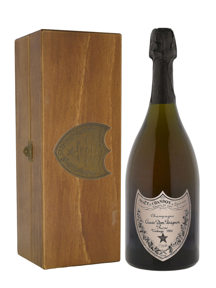 Dom Perignon Rose 1986 w/Box