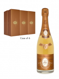 Louis Roederer Cristal Rose 2002 w/box - 6bots