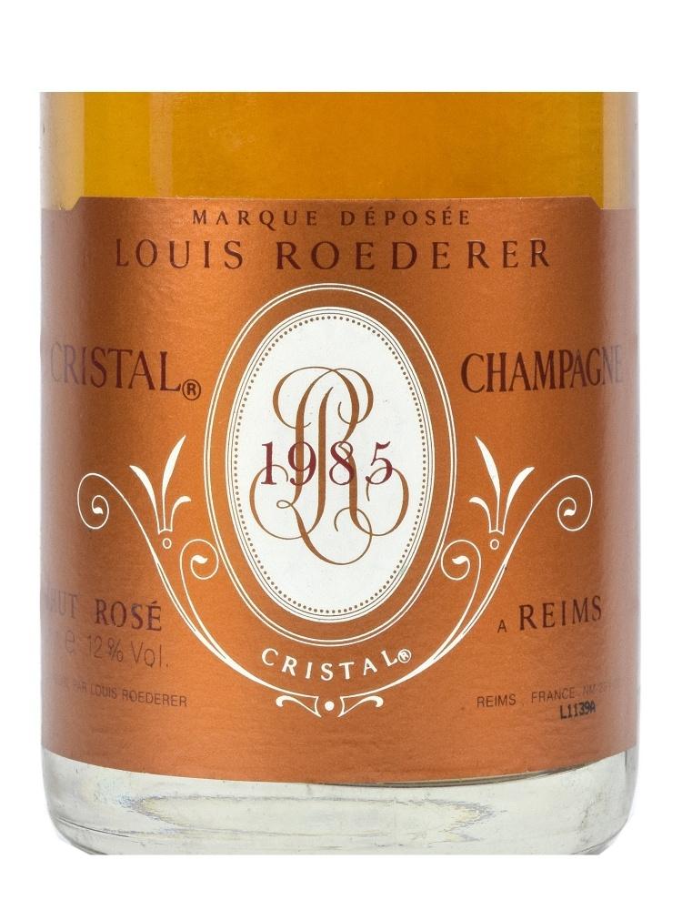 Louis Roederer Cristal Rose 1985 w/box