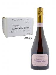 Veuve Fourny Rose (les Rougesmonts) Extra Brut NV - 6bots