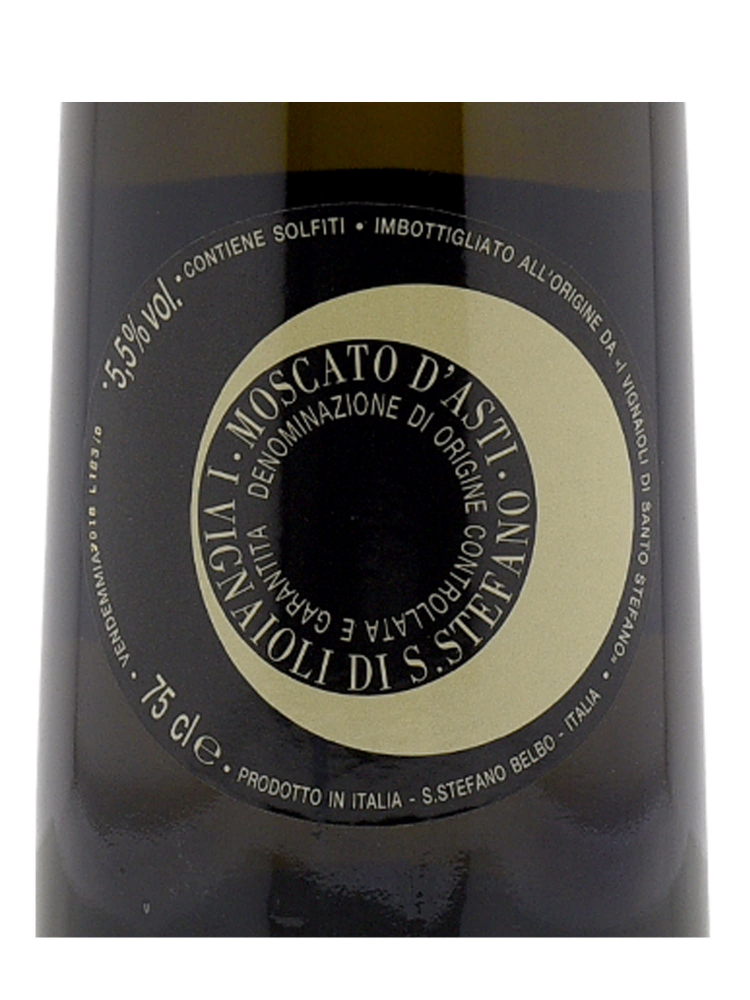 Moscato D'Asti Santo Stefano DOCG 2018