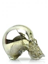 Esque 工作室 8 英寸带镜子骷髅头小雕像(设计师:Justin Parker)