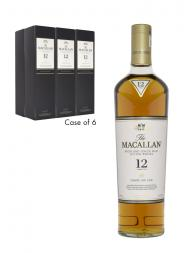 Macallan  12 Year Old Sherry Oak Single Malt 700ml - 6bots