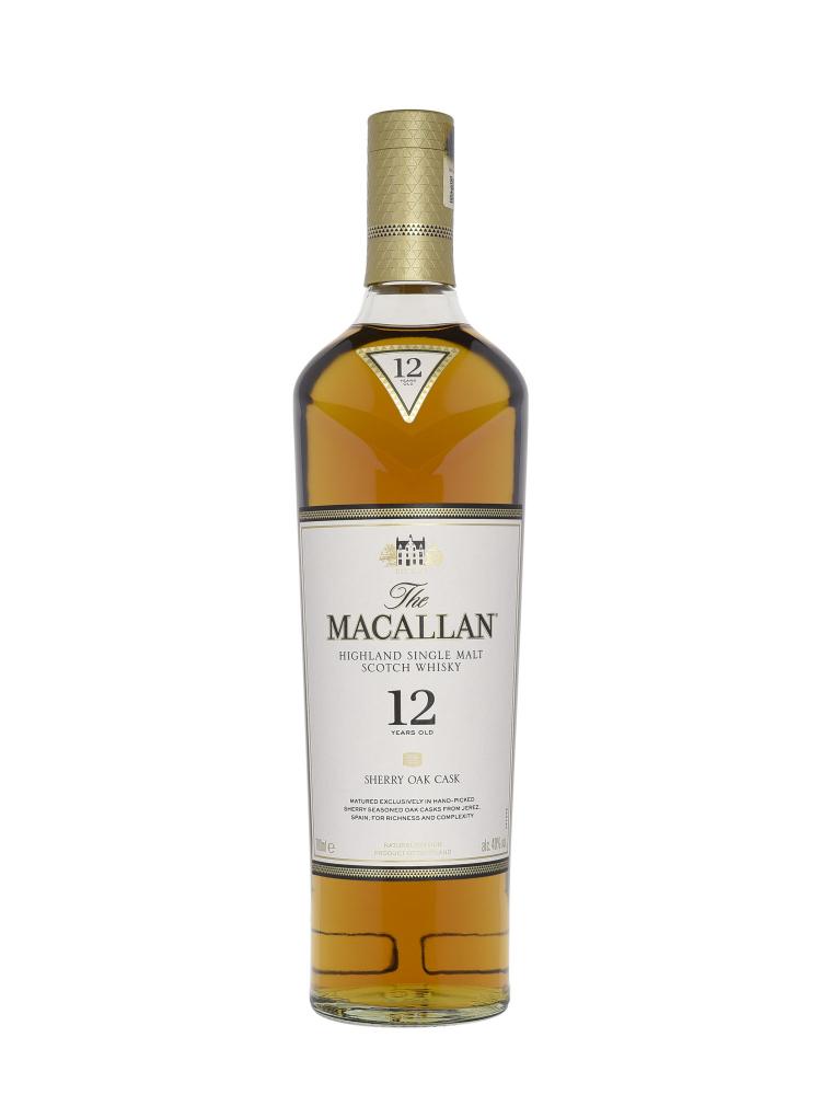 Macallan  12 Year Old Sherry Oak Single Malt 700ml