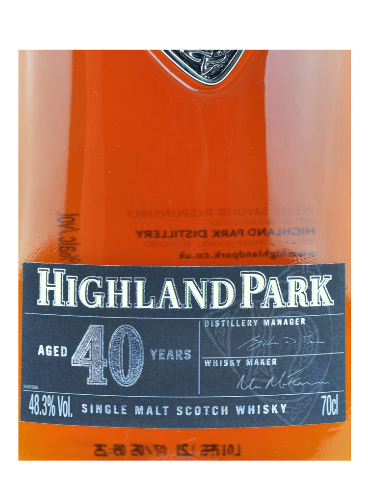 Highland Park 40 Year Old 700ml