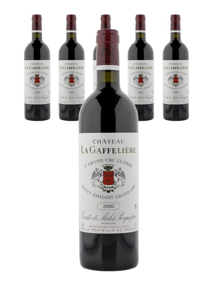 Ch.La Gaffeliere 2000 - 6bots