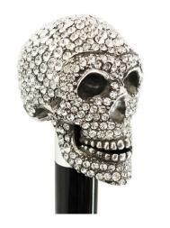 Pasotti Cane Skull Swarovski W333