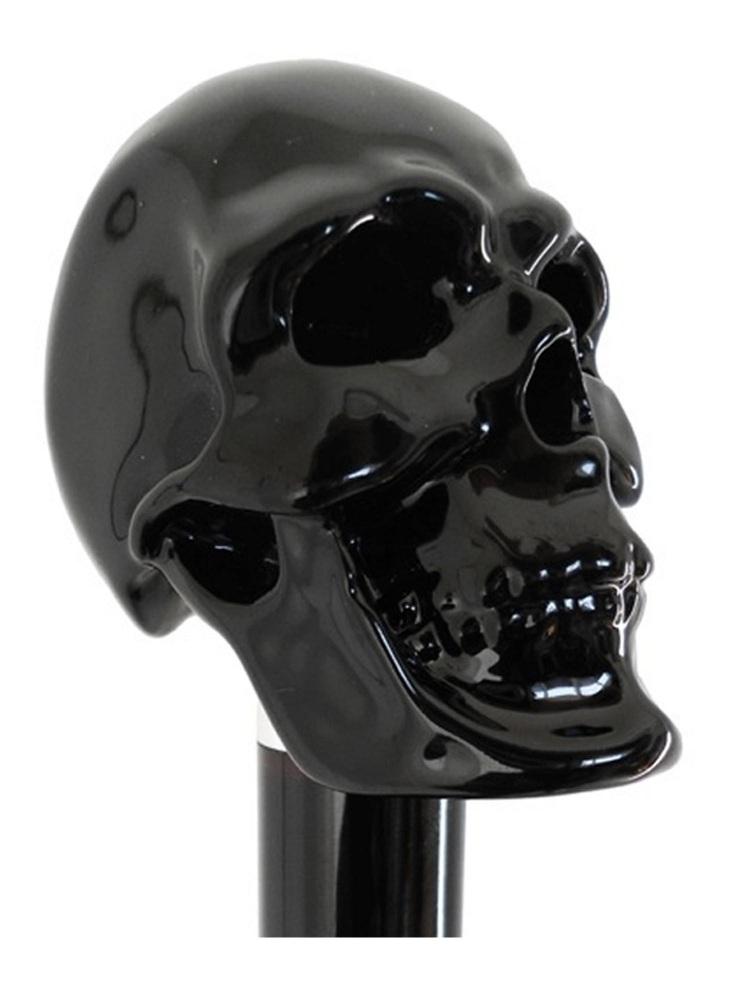 Pasotti Shoehorn Skull Black W33