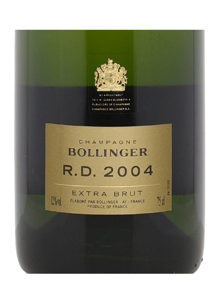 Bollinger R D Extra Brut 2004