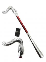 Pasotti Shoehorn Snake Body W09 Red Handle