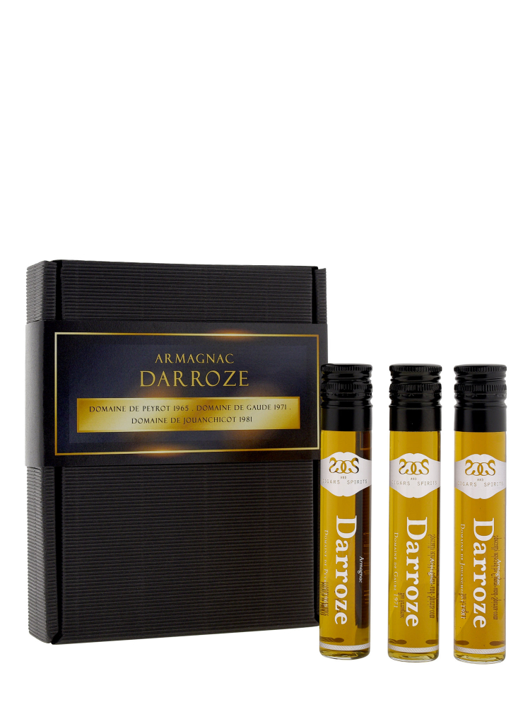 Coffret No.7 Spirits Flask Armagnac Darroze Set 50ml