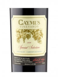 Caymus Special Selection Cabernet Sauvignon 2008 1500ml