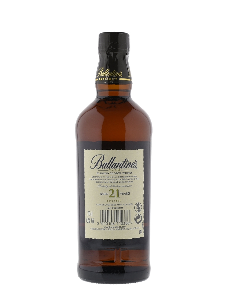 Ballantine's 21 Year Old Blended Scotch Whisky 700ml