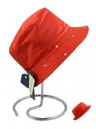 Pasotti Rain Hat Reversable Swarovski Crystals Edge Red