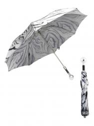 Pasotti Umbrella FAW82 Golf Ball Handle White Tiger