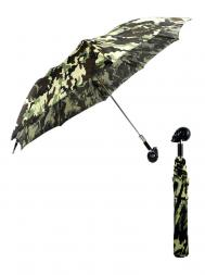 Pasotti Umbrella FAW33 Skull Black Handle Moro