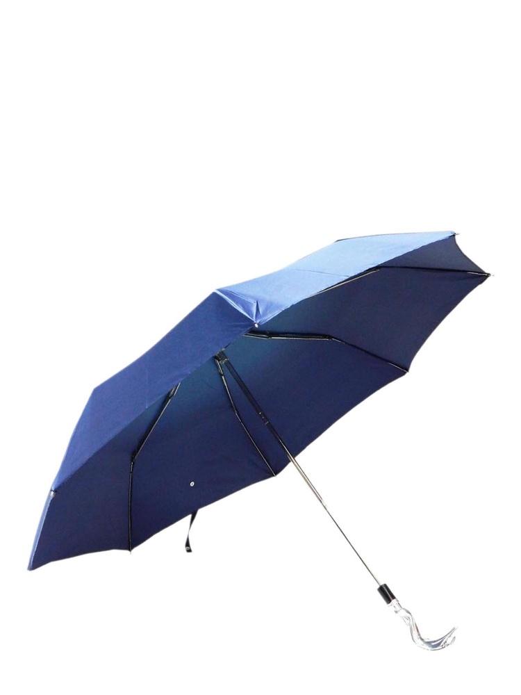 Pasotti Umbrella FMW32 Dolphin Handle Blue