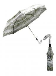 Pasotti Umbrella FMW31 Snake Head Handle Snake Print