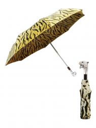 Pasotti Umbrella FMW35 Tiger Handle Panther