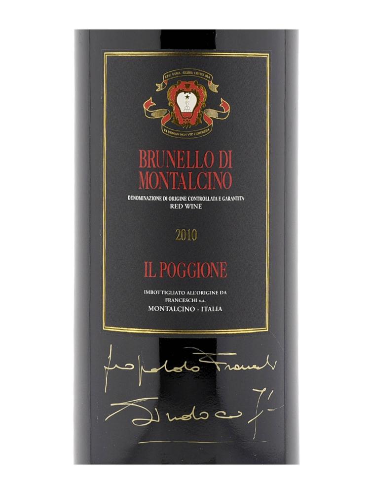Il Poggione Brunello di Montalcino 2010 3000ml w/box