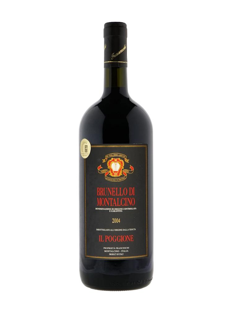 Il Poggione Brunello di Montalcino 2004 w/box 1500ml