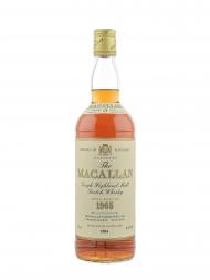 Macallan 1965 17yrs Old Sherry Oak Single Malt (Botttled 1984)
